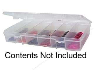 Craft Organizers Tote: Creative Options Organizer Embellishments Keeper Petite 6 Compartments