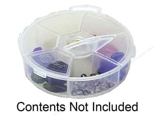 storage : Creative Options Organizer Round 6 Compartment Organizer