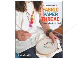 FunStitch Studio By C&T Fabric Paper Thread Book
