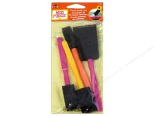 Foam brush: Plaid Mod Podge Tools Brush Set Foam 4pc