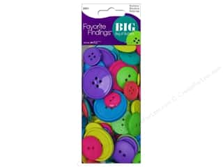 sewing & quilting: Blumenthal FF Big Bag Of Buttons 3.5 oz Carnival