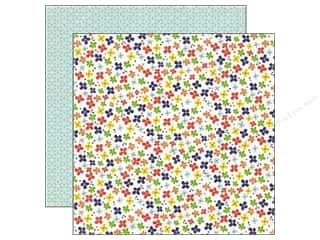 Stock Up Sale Glue Dots: Echo Park 12 x 12 in. Paper Paper & Glue Collection Little Flowers (25 sheets)
