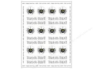 Weekly Specials Petaloo Expressions Collection: SRM Press Sticker By The Dozen Trick or Treat