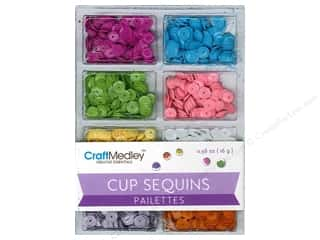 craft & hobbies: Craft Medley 7 mm Cupped Sequins Baby