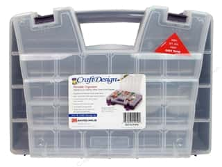storage : Craft Design Portable Craft Organizer Purple