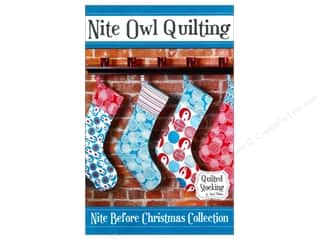 Quilting: Nite Owl Quilting Quilted Stocking Pattern