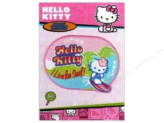 C&D Visionary Applique Hello Kitty Live For Surf