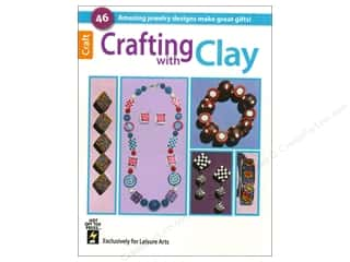 books & patterns: Crafting With Clay Book by Leisure Arts