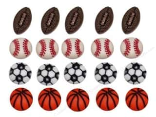 novelties: Jesse James Dress It Up Embellishments Tiny Sports Equipment