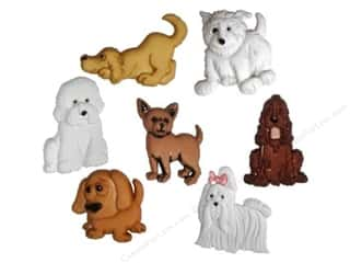 scrapbooking & paper crafts: Jesse James Dress It Up Embellishments Puppy Parade