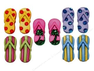 craft & hobbies: Jesse James Embellishments - Fab Flops