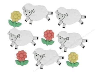 novelties: Jesse James Dress It Up Embellishments Counting Sheep