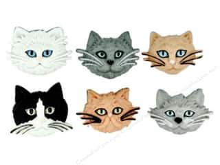 craft & hobbies: Jesse James Dress It Up Embellishments Fuzzy Felines