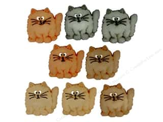 craft & hobbies: Jesse James Dress It Up Embellishments Fat Cats