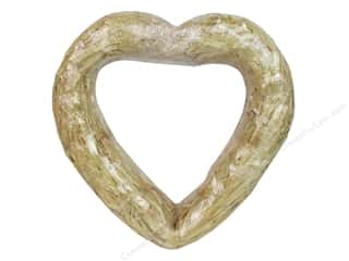 Floral & Garden: FloraCraft Straw Heart 12 in. Clear Wrap