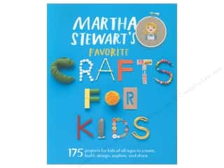 Mothers Day Gift Ideas Martha Stewart: Potter Publishers Martha Stewart's Favorite Crafts For Kids Book