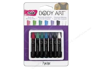 Weekly Specials Leisure Arts Loop-D-Doo Kits: Tulip Body Art Color Sticks Shimmer Pastel 7pc