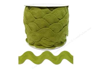 Cheep Trims Ric Rac jumbo: Jumbo Ric Rac by Cheep Trims  1 13/32 in. Chartreuse (24 yards)