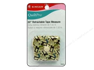 "Singer Notions QuiltPro Tape Measure 60"" Retractable"