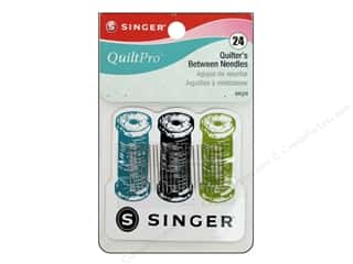 quilting notions: Singer Notions QuiltPro Quilter Between Needle with Magnet 24pc
