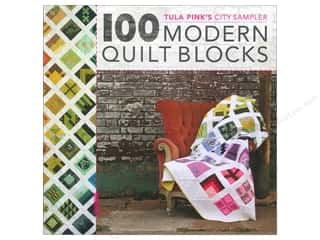 Clearance: David & Charles Tula Pink's City Sampler 100 Modern Quilt Blocks Book