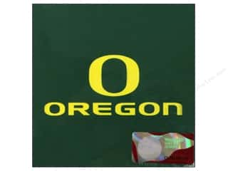die cuts: Sports Solution Logo Card Set Oregon 6 pc.