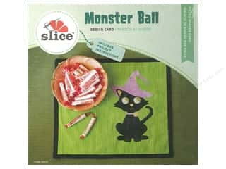 die cutting machines: Slice Design Card Monster Ball