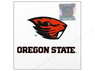 die cuts: Sports Solution Logo Card Set Oregon State 6pc