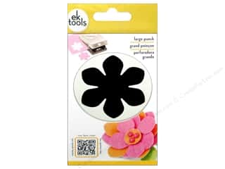 EK Paper Shapers Large Punch Gardenia 2 3/8 in.