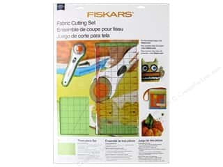 acrylic felt: Fiskars Rotary Cutter Set Fabric 3pc