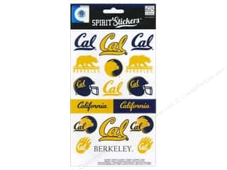 NCAA: Me&My Big Ideas Sticker Spirit NCAA Cal (3 sets)