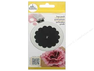 storage : EK Success Large Punch Scallop Circle 2 in.