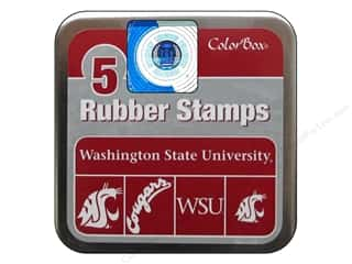 NCAA: ColorBox Rubber Stamp Set Washington State University