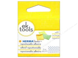 glues, adhesives & tapes: EK Herma Dotto Repositional Adhesive Refill 49 ft.