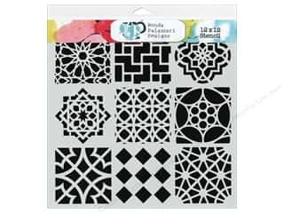 Designers Workshop: The Crafter's Workshop Template 12 x 12 in. Moroccan Tiles