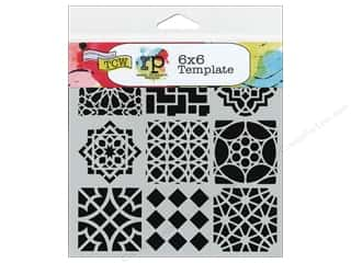 Designers Workshop: The Crafter's Workshop Template 6 x 6 in. Moroccan Tiles
