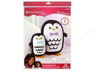 weekly special pillow: American Girl Kit Sew & Stuff Penguins