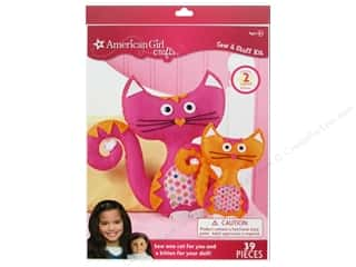 weekly special pillow: American Girl Kit Sew & Stuff Cats