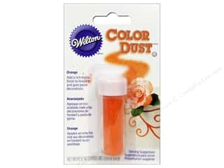 Edible Decorations / Icing / Sprinkles: Wilton Edible Decorations Color Dust .05oz Orange