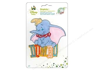 Simplicity Disney Baby Iron On Dumbo With Name