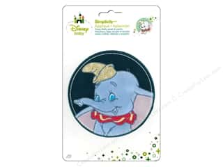 baby products : Simplicity Disney Baby Iron On Dumbo In Stitched Circle