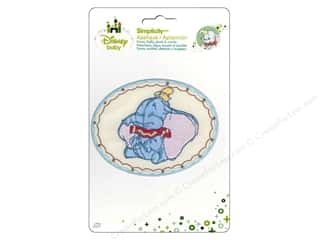 Simplicity Disney Baby Iron On Dumbo Sleeping
