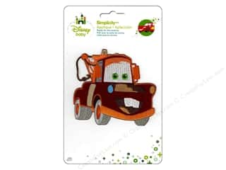 Simplicity Disney Baby Iron On Cars Mater