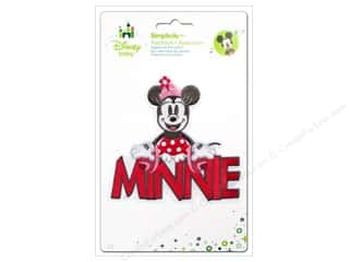 baby products : Simplicity Disney Baby Iron On Minnie With Words