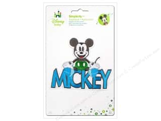 baby products : Simplicity Disney Baby Iron On Mickey With Words