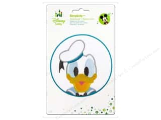 baby products : Simplicity Disney Baby Iron On Donald In Blue Circle