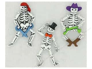 scrapbooking & paper crafts: Jesse James Dress It Up Embellishments Bone-ifed Characters