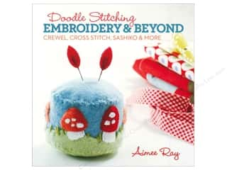Lark Doodle Stitching Embroidery & Beyond Book by Aimee Ray