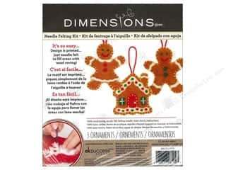 weekly specials Dimensions Felting: Dimensions Needle Felting Kits Sweet Gingerbread Ornaments
