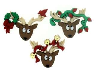 craft & hobbies: Jesse James Dress It Up Embellishments Oh Deer